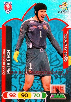 Panini Euro 2012 Cards Adrenalyn XL - N° 226 - Petr CECH (République Tchèque) (Goal Stopper)