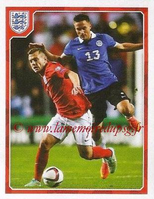 Panini England 2016 - N° 160