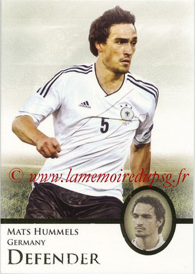 2013 - Futera World Football Unique - N° 017 - Mats HUMMELS (Allemagne) (Defender)
