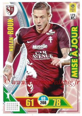 2017-18 - Panini Adrenalyn XL Ligue 1 - N° 173bis - Nolan ROUX (Metz) (Mise à jour)