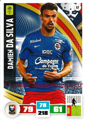 2016-17 - Panini Adrenalyn XL Ligue 1 - N° 057 - Damien DA SILVA (Caen)