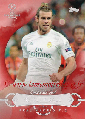2015-16 - Topps UEFA Champions League Showcase Soccer - N° BB-GB - Gareth BALE (Real Madrid CF) (Best of the Best)