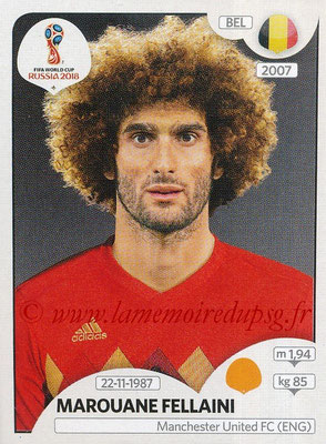 2018 - Panini FIFA World Cup Russia Stickers - N° 523 - Marouane FELLAINI (Belgique)