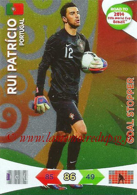 2014 - Panini Road to FIFA World Cup Brazil Adrenalyn XL - N° 216 - Rui PATRICIO (Portugal) (Goal Stopper)