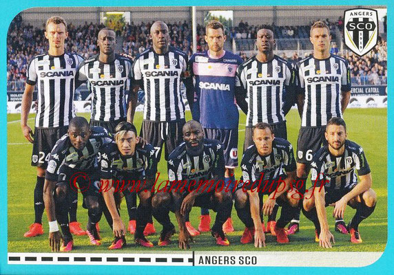 2016-17 - Panini Ligue 1 Stickers - N° 004 - Equipe Angers