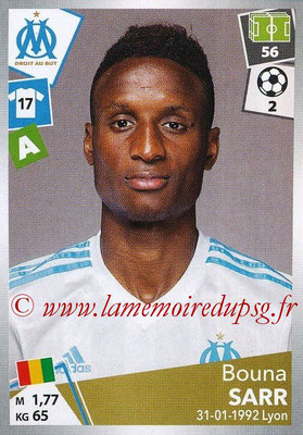 2017-18 - Panini Ligue 1 Stickers - N° 227 - Bouna SARR (Marseille)