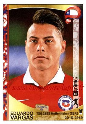 Panini Copa America Centenario USA 2016 Stickers - N° 347 - Eduardo VARGAS (Chili)