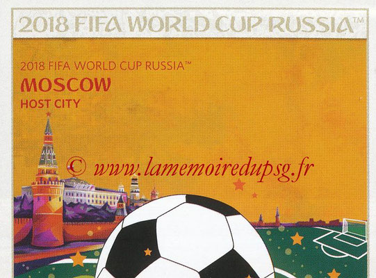 2018 - Panini FIFA World Cup Russia Stickers - N° 020 - Moscou