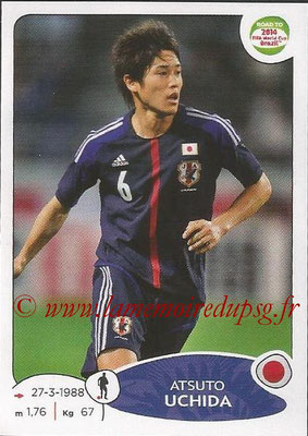2014 - Panini Road to FIFA World Cup Brazil Stickers - N° 400 - Atsuto UCHIDA (Japon)