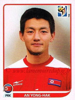 2010 - Panini FIFA World Cup South Africa Stickers - N° 518 - An YONG-HAK (Corée du Nord)