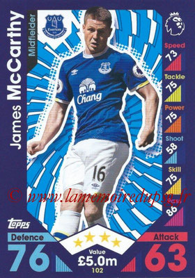 2016-17 - Topps Match Attax Premier League - N° 102