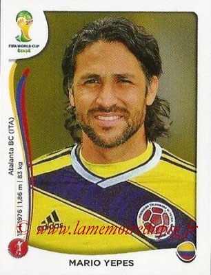 N° 187 - Mario YEPES (2004-08, PSG > 2014, Colombie)