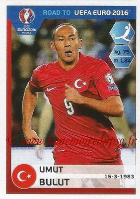 Panini Road to Euro 2016 Stickers - N° 383 - Umut BULUT (Turquie)