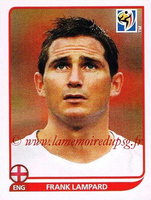 2010 - Panini FIFA World Cup South Africa Stickers - N° 191 - Frank LAMPARD (Angleterre)