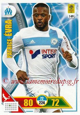 2017-18 - Panini Adrenalyn XL Ligue 1 - N° 149 - Patrice EVRA (Marseille)