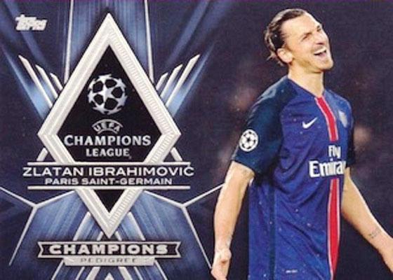 N° CP-ZI - Zlatan IBRAHIMOVIC Champions Pedigree)