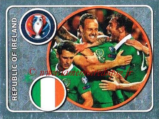 Panini Euro 2016 Stickers - N° 461 - Équipe de République d'Irlande