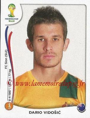 2014 - Panini FIFA World Cup Brazil Stickers - N° 179 - Dario VIDOSIC (Australie)