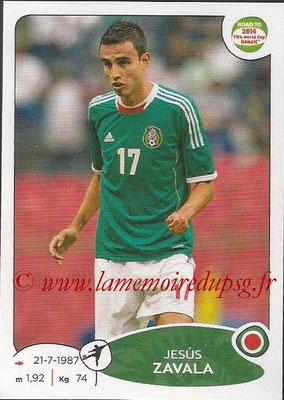 2014 - Panini Road to FIFA World Cup Brazil Stickers - N° 256 - Jesus ZAVALA (Mexique)