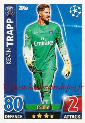 2015-16 - Topps UEFA Champions League Match Attax - N° 055 - Kevin TRAPP (Paris Saint-Germain)