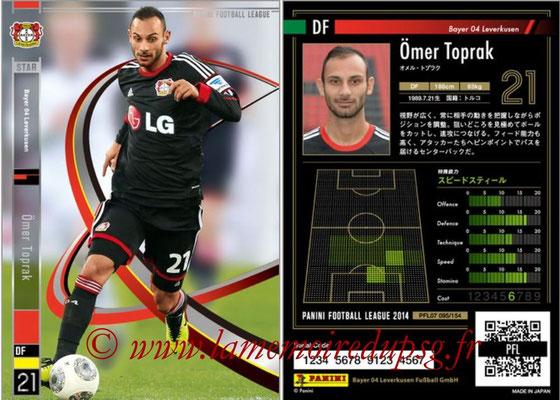 Panini Football League 2014 - PFL07 - N° 095 - Ömer TOPRAK (Bayer Leverkusen) (Star)