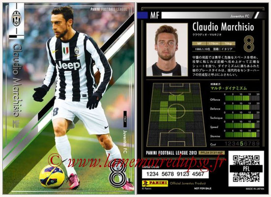 Panini Football League 2013 - PFL04 - N° 013 - Claudio MARCHISIO (Juventus FC)