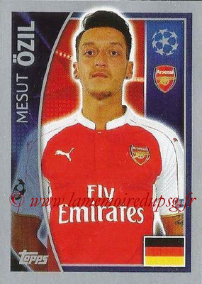 2015-16 - Topps UEFA Champions League Stickers - N° 398 - Mesut ÖZIL (Arsenal FC)