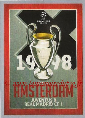 2015-16 - Topps UEFA Champions League Stickers - N° 590 - UEFA Champions League Final 1997-98