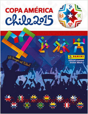 Panini Copa America Chile 2015 Stickers - Couverture