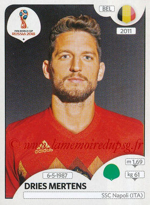2018 - Panini FIFA World Cup Russia Stickers - N° 529 - Dries MERTENS (Belgique)