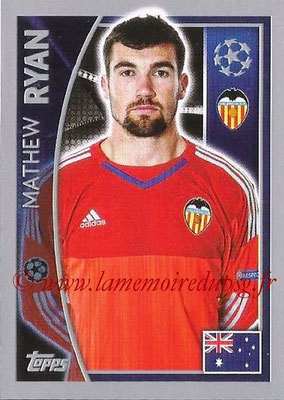 2015-16 - Topps UEFA Champions League Stickers - N° 552 - Mathew RYAN (FC Valence)