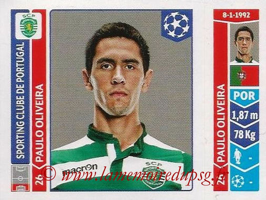 2014-15 - Panini Champions League N° 537 - Paulo OLIVEIRA (Sporting Club de Portugal)
