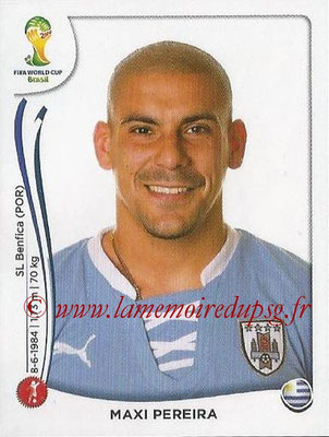 2014 - Panini FIFA World Cup Brazil Stickers - N° 265 - Maxi PEREIRA (Uruguay)
