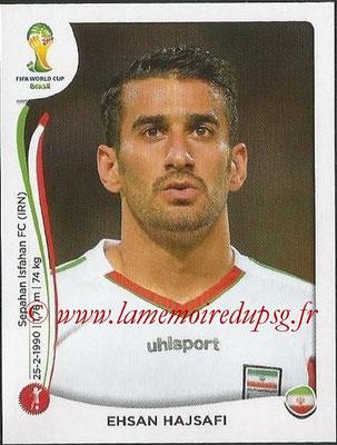2014 - Panini FIFA World Cup Brazil Stickers - N° 457 - Ehsan HAJSAFI (Iran)