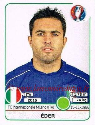 Panini Euro 2016 Stickers - N° 515 - EDER (Italie)
