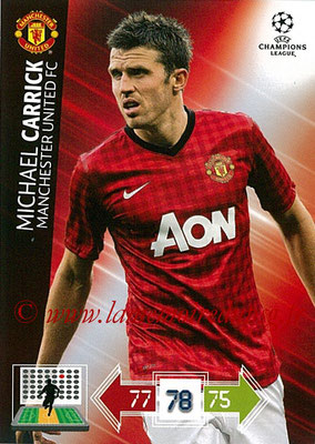 2012-13 - Adrenalyn XL champions League N° 140 - Michael CARRICK (Manchester United FC)