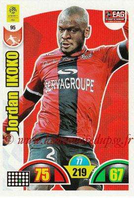 2018-19 - Panini Adrenalyn XL Ligue 1 - N° 095 - Jordan IKOKO (Guingamp)