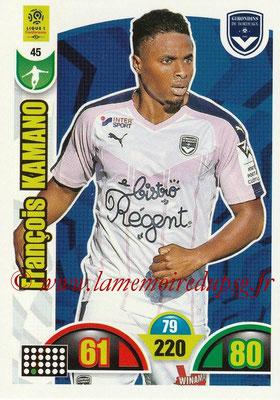 2018-19 - Panini Adrenalyn XL Ligue 1 - N° 045 - Yann KARAMOH (Bordeaux)