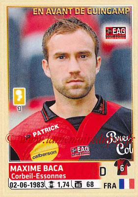 2014-15 - Panini Ligue 1 Stickers - N° 103 - Maxime BACA (EA Guingamp)