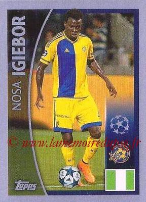2015-16 - Topps UEFA Champions League Stickers - N° 448 - Nosa IGIEBOR (Maccabi Tel-Aviv FC)