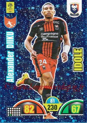 2018-19 - Panini Adrenalyn XL Ligue 1 - N° 367 - Alexander DJIKU (Caen) (Idole)