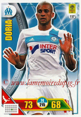 2017-18 - Panini Adrenalyn XL Ligue 1 - N° 157 - DORIA (Marseille)