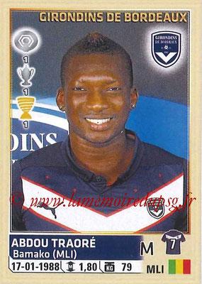 2014-15 - Panini Ligue 1 Stickers - N° 043 - Abdou TRAORÉ (Girondins de Bordeaux)