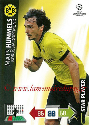 2012-13 - Adrenalyn XL champions League N° 071 - Mats HUMMELS (Borussia Dortmund) (Star Player)