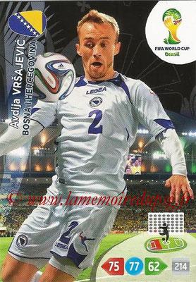 2014 - Panini FIFA World Cup Brazil Adrenalyn XL - N° 039 - Avdija VRSAJEVIC (Bosnie-Herzegovine)