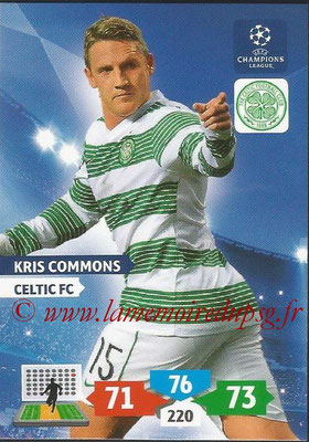 2013-14 - Adrenalyn XL champions League N° 112 - Kris COMMONS (Celtic FC)