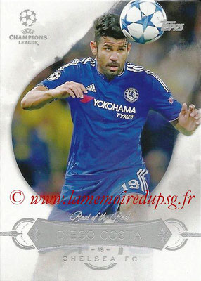 2015-16 - Topps UEFA Champions League Showcase Soccer - N° BB-DC - Diego COSTA (Chelsea FC) (Best of the Best)
