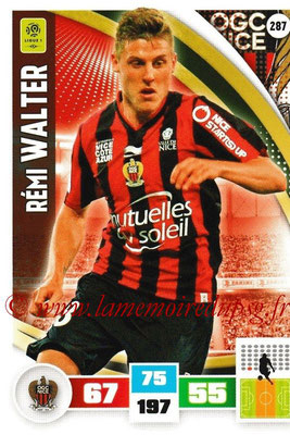 2016-17 - Panini Adrenalyn XL Ligue 1 - N° 287 - Rémi WALTER (Nice)