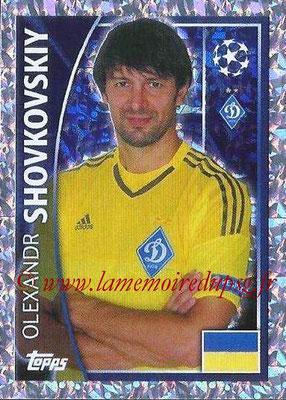 2015-16 - Topps UEFA Champions League Stickers - N° 480 - Olexandr SHOVKOVSKIY (FC Dynamo Kiev)