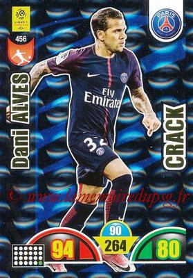 2018-19 - Panini Adrenalyn XL Ligue 1 - N° 456 - Dani ALVES (Paris Saint-Germain) (Crack)